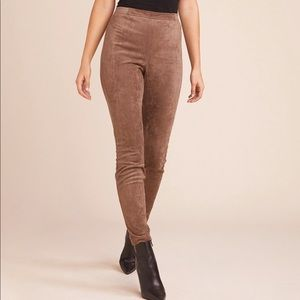 BB Dakota Faux Suede Leggings